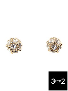orelia-pave-ball-stud-earrings