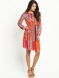 south-long-sleeve-folk-print-dressnbsp
