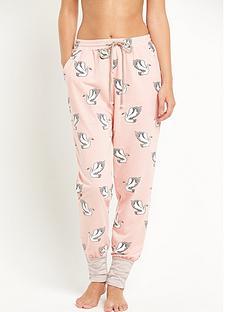 mink-pink-birds-of-a-feather-pyjama-bottoms