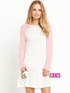 mink-pink-do-not-disturb-long-sleeve-t-shirt-dress