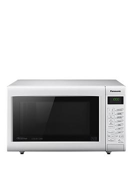 Panasonic Panasonic Nn-Ct555Wbpq Slimline Combination Microwave - White