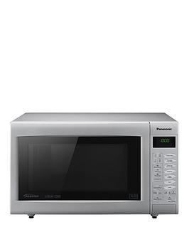 Panasonic Panasonic Nn-Ct565Mbpq Slimline Combination Microwave - Silver