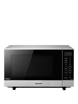 Panasonic Panasonic Sf464Mbpq Flatbed Solo Microwave - Silver