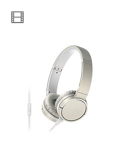 sony-mdr-zx660-smartphone-capable-headphones-champagne