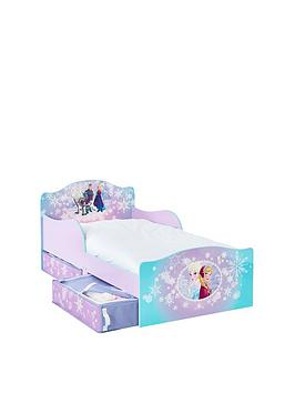 Disney Frozen Snuggletime Toddler Bed With Underbed