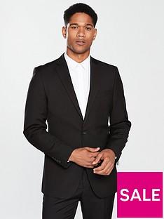 a8451438eeb5cf V by Very Regular Suit Jacket - Black