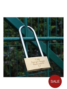 personalised-love-lock