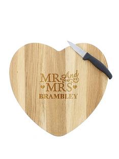 personalised-mr-and-mrs-wooden-heart-chopping-board
