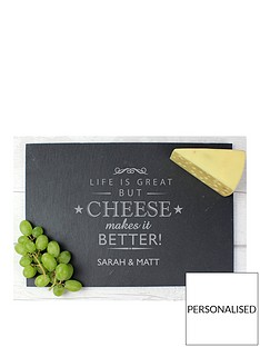 personalised-cheese-makes-life-better-slate-cheeseboard