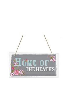 personalised-rustic-hanging-wooden-sign
