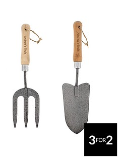 personalised-fork-and-trowel-set