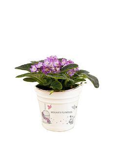 personalised-birdcage-ceramic-flower-pot