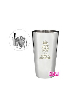 personalised-keep-calm-cocktail-lovers-set