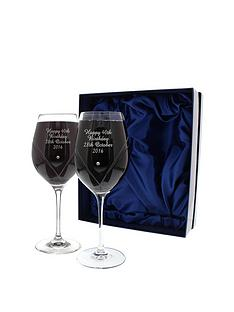 personalised-swarovski-wine-glasses