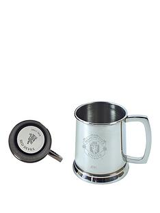 manchester-united-manchester-united-personalised-stainless-steel-glass-base-tankard