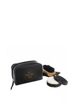 personalisedtime-to-shine-shoe-polish-set
