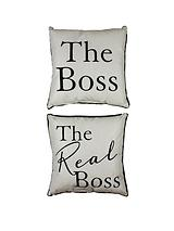 Amore The Boss & The Real Boss Cushions