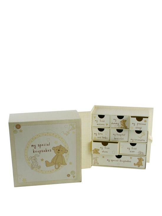 7d32c0d6aa43 Button Corner Keepsake Box with Drawers | very.co.uk