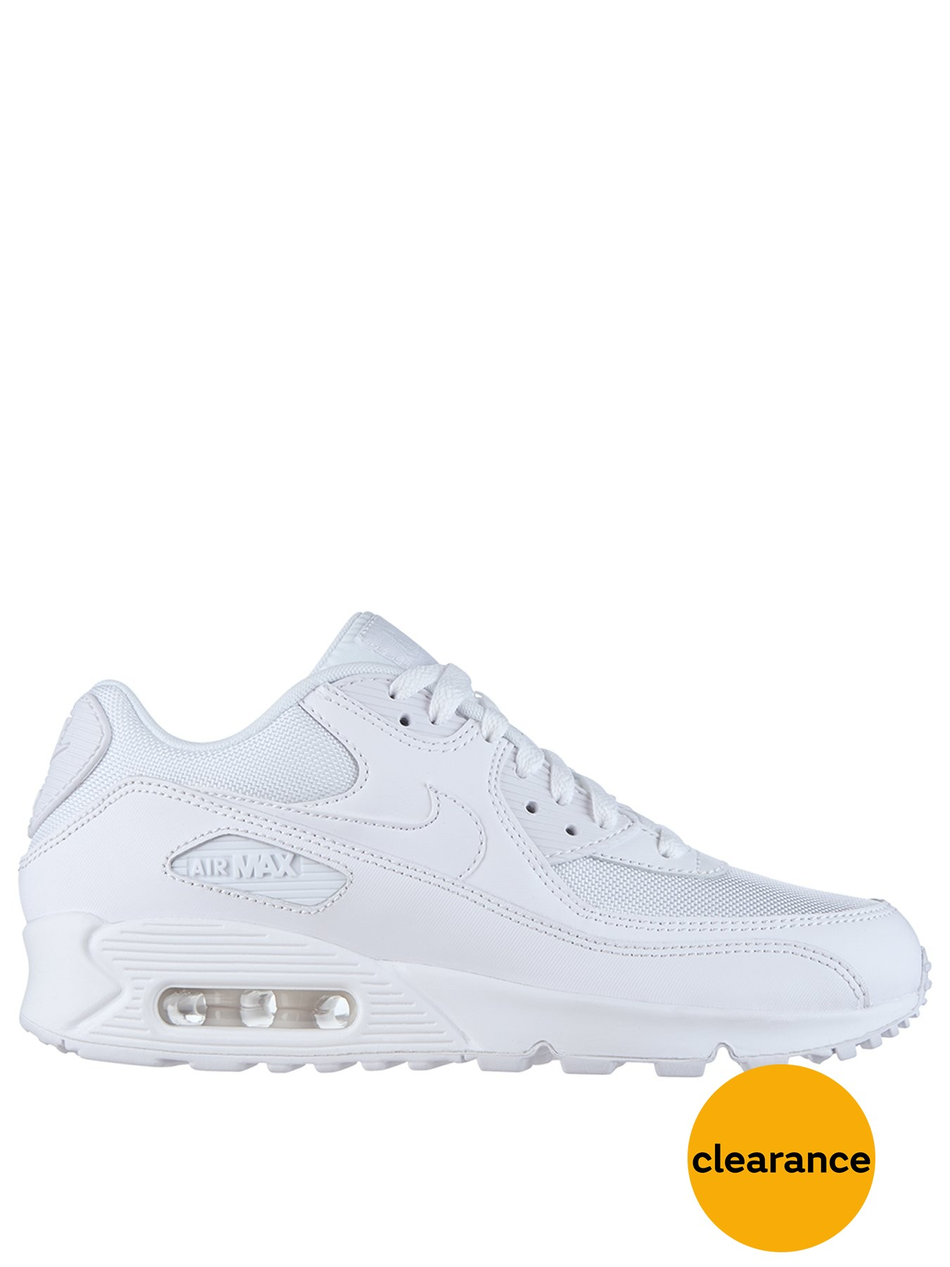 Nike Air Max 90 Essential Shoe Triple White 1600015429 Men's Shoes Nike Trainers