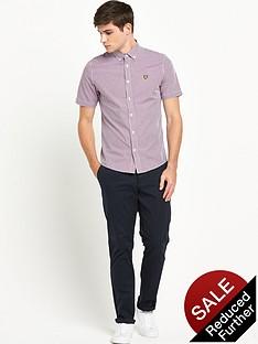 lyle-scott-lyle-amp-scott-ss-gingham-check-shirt