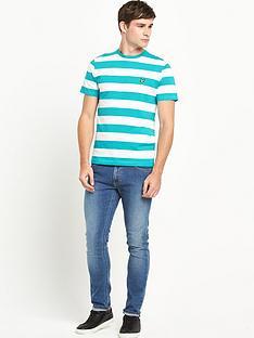 lyle-scott-block-stripe-crew-neck-t-shirt