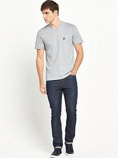 lyle-scott-v-neck-pocket-t-shirt