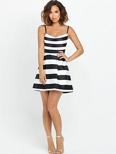 myleene-klass-stripe-skater-dress