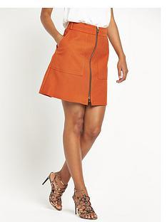river-island-a-line-zip-front-skirt
