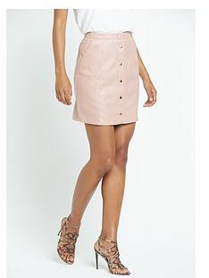 river-island-pu-button-through-a-line-skirt