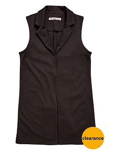 freespirit-girls-sleeveless-ponte-blazer