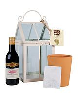 Grow Your Own Vine & Red Wine Gift Set