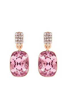lola-and-grace-rose-gold-plated-long-cushion-pink-crystal-solitaire-drop-earrings-made-with-swarovski-crystal