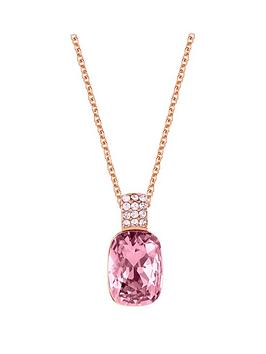 lola-and-grace-rose-gold-plated-long-cushion-pink-crystal-solitaire-pendant-necklace-made-with-swarovski-crystal
