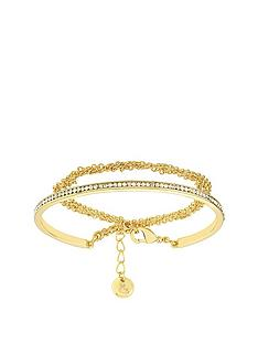 lola-and-grace-gold-plated-slim-line-double-wrap-bracelet-made-with-swarovskireg-crystal