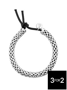lola-and-grace-rhodium-plated-easy-stretch-bracelet