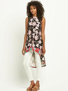 south-lace-shoulder-printed-tunic