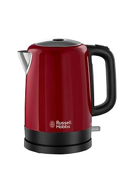 russell-hobbs-20612-canterbury-kettle-red
