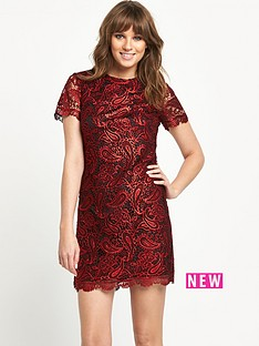 v-by-very-shiny-guipure-lace-shift-dress