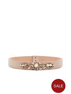 jewel-embellished-skinny-waist-beltnbsp