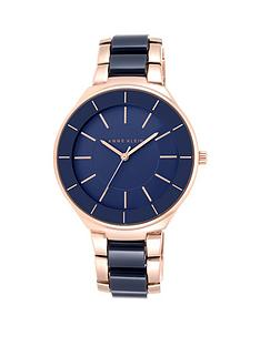 anne-klein-anne-klein-navy-blue-dial-oversized-boyfriend-navy-resin-ladies-watch