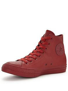 converse-chuck-taylor-all-star-mono-leather-hi-top-plimsolls