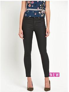 oasis-jade-coated-skinny-jeans
