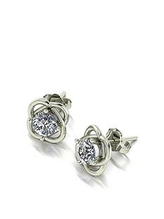 moissanite-9ct-gold-1-carat-moissanite-knot-earrings