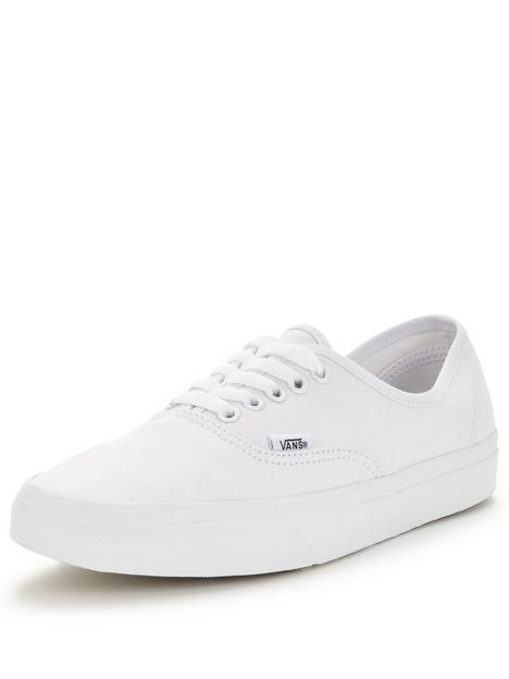 vans-authentic-trainers-white