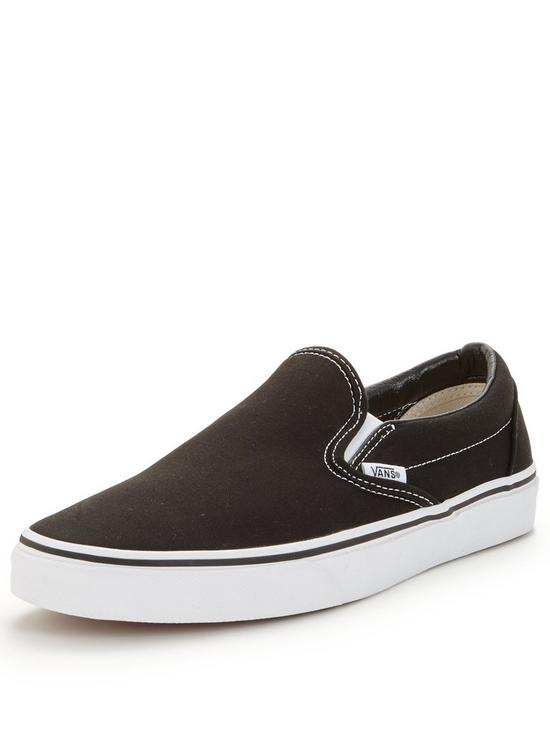6b72b1095b8c Vans Classic Slip-On Trainers | very.co.uk