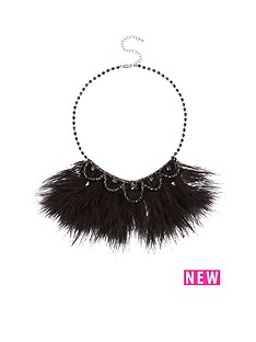feather-diamante-detail-necklacenbsp