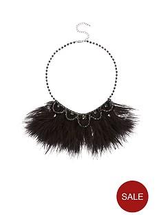 feather-diamante-detail-necklacenbsp