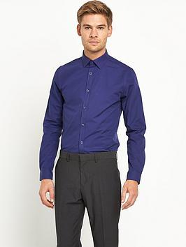 V by Very Long Sleeve Slim Shirt