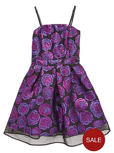 freespirit-girls-strappynbspjacquard-dress