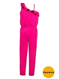 freespirit-girls-ruffle-one-shoulder-jumpsuit